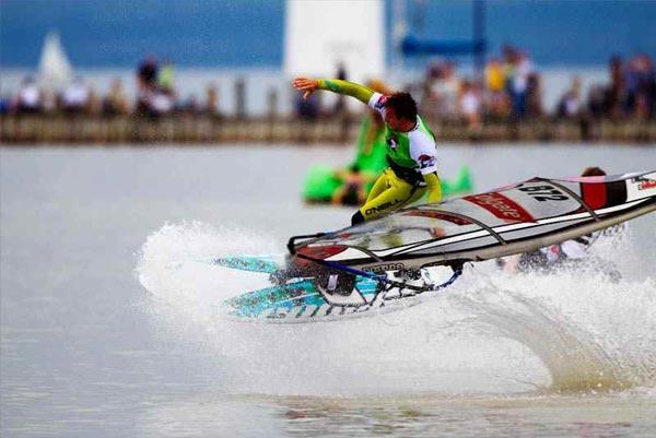 Surf Worldcup Podersdorf 2011.  Foto: Veranstalter