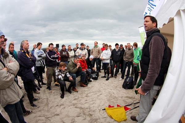 Beim Surf-Festival Pelzerhaken 2010.  Foto: A.-K Stevens