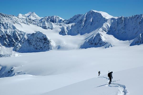 Spring Classics 2011 rocken den Soulcountry Tirol Top Spot am Kaunertaler Gletscher.  Foto: M. Donat