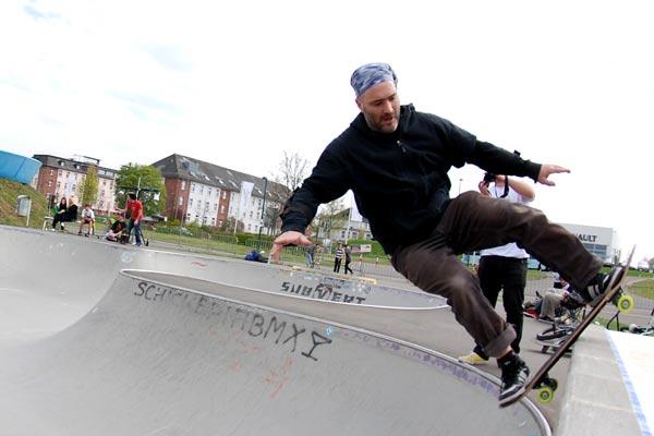Saisoneröffnung Skatepark St.Wendel.  Foto: Achim Thiel