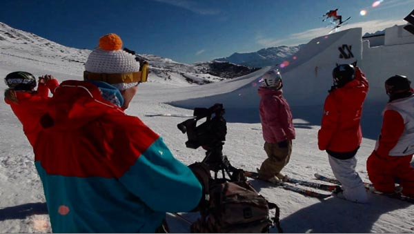 "Freeski-Eventreport: Behind-the-Scenes bei den ""Nine Queens""."