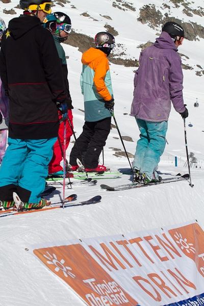 Deutsche Freeski Meisterschaft 2011 am Kaunertaler Gletscher.  Foto: Veranstaler