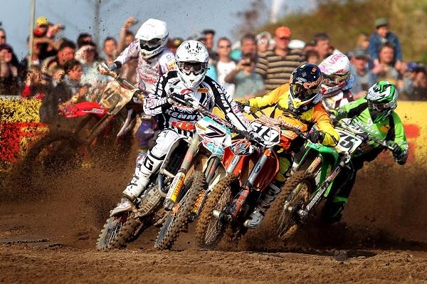 Motocross Action bei den ADAC MX Masters.  Foto: Veranstalter