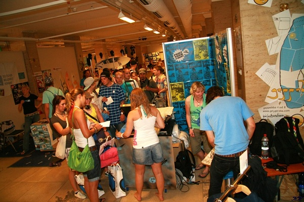 Tradeshow beim Surffestival Foto: HHonolulu Events