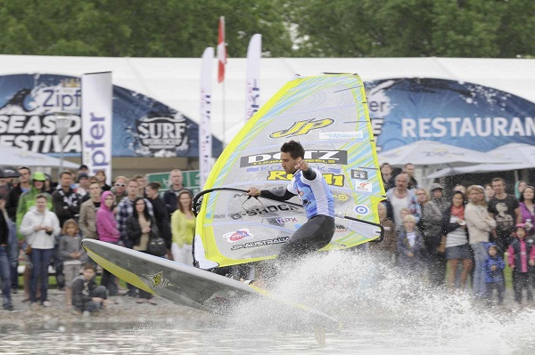 Surf Worldcup 2011 am Neusiedler See.  Foto: www.pressebereich.at