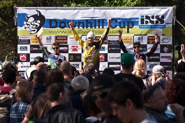 iXS European Downhill Cup am Monte Tamaro 2011.   Foto:  Thomas Dietze