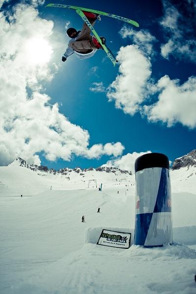 Sprig in the Park Freestyle Camp 2011 auf der Zugspitze.  Foto: Veranstalter