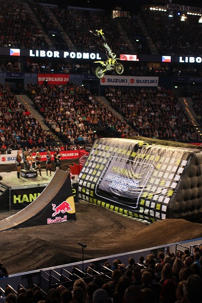 Night of the Jumps 2011 in Hamburg.  Foto: Oliver Franke / IFMXF.com