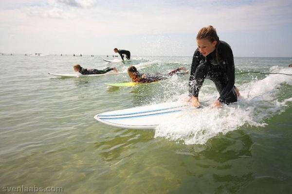 Billabong Sylt Surf Camp 2010.  Foto: Billabong/Laabs