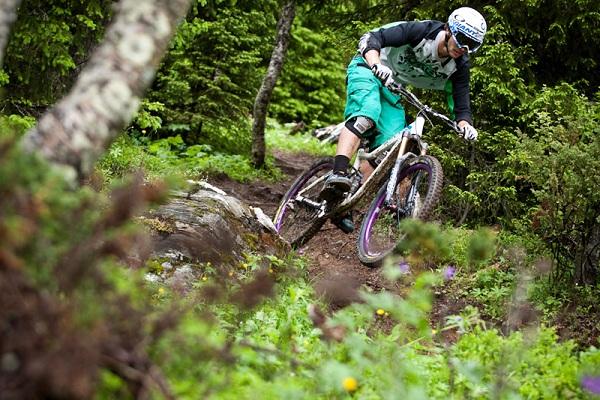 Mountainbiker  Andi Wittmann.  Foto: S. Schiek