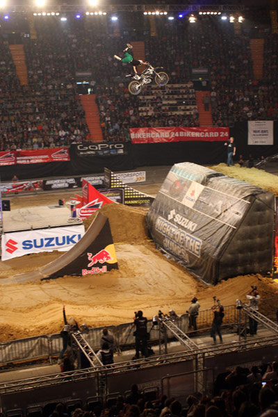 David Rinaldo bei der Nigth of the Jumps 2011 in M�nchen.  Foto: Oliver Franke / IFMXF.com