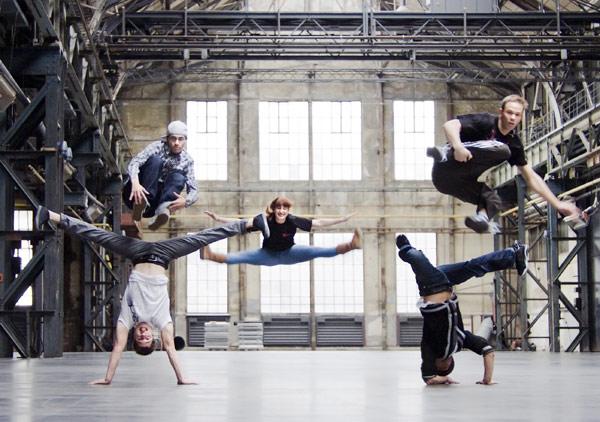 Breakdance-Action bei Urbanatix. Foto: Georg Schreiber