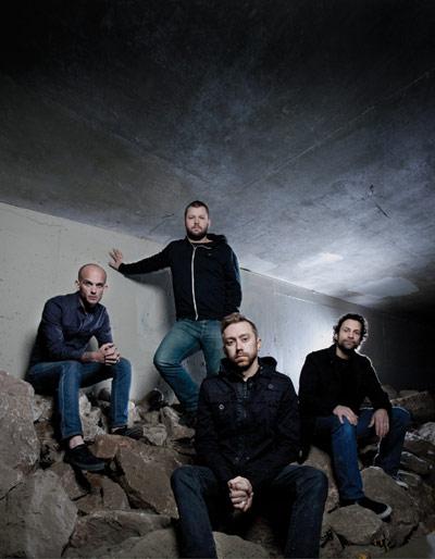 Die Jungs von Rise Against.  Foto: Evan Hunt