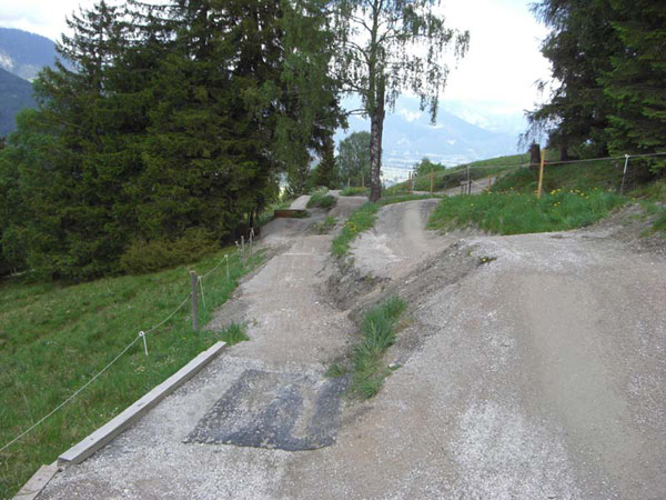 Downhillstrecke.  Foto: Veranstalter