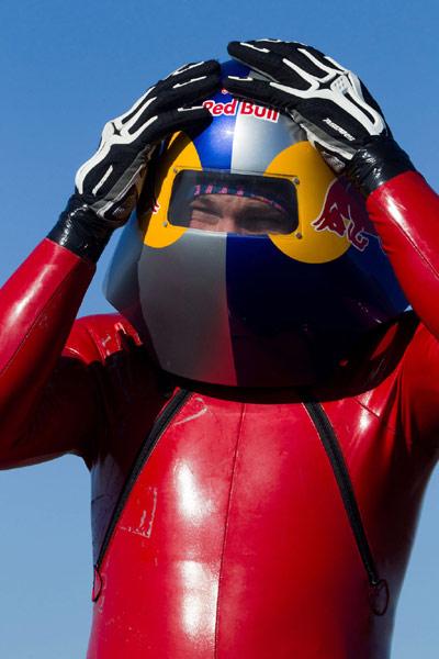 Markus Stöckl stellt neuen Weltrekord auf.  Foto:  Mauricio Ramos für Global-Newsroom.com