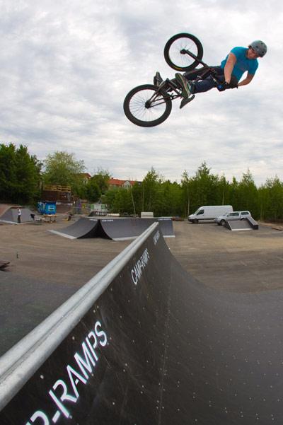 Der Skate- und Bikepark Flensburg .  Foto: Veranstalter