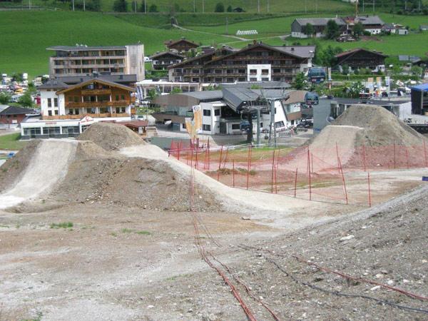 26TRIX Strecke in Leogang.  Foto: Norbert Szasz
