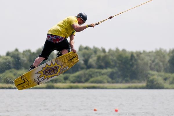 Rene Konrad in Action.  Foto:  Daniel Gütschow