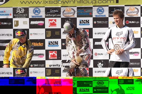 iXS European Downhill Cup 2011.  Foto: Thomas Dietze