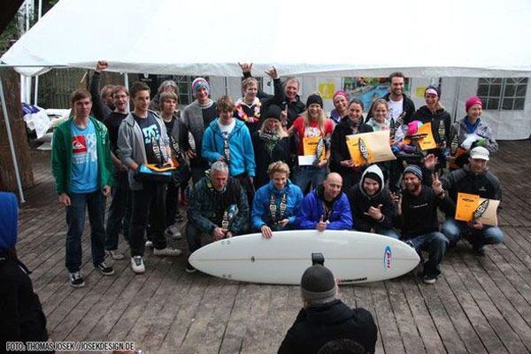 Deutsche Surfboard SUP Paddelrace Meisterschaft 2011.  Foto: Thomas Josek/ Josekdesign.de