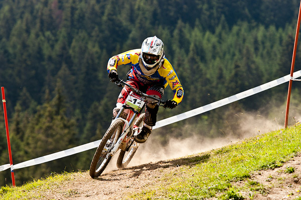 iXS Swiss Downhill Cup 2011 in Chur.  Foto: Thomas Dietze