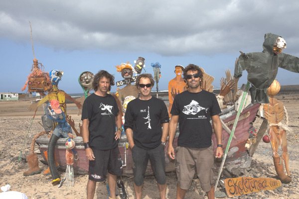 Skeleton Sea Art & Surf Camp.  Foto: Veranstalter