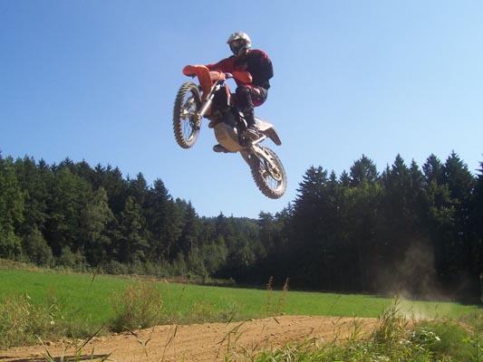 Rider Daniel Meindl. Foto: Carmen Meindl.