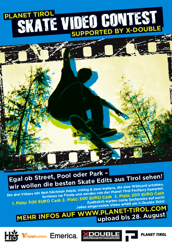 Skate Video Contest.  Foto: Plant Tirol Skate Video Contest
