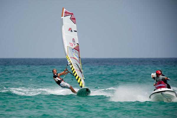Gunnar Asmussen.  Foto: Windsurf Worldcup Fuerteventura 2011