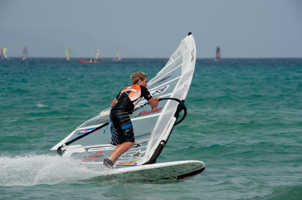 Dennis Müller.  Foto: Windsurf Worldcup Fuerteventura 2011