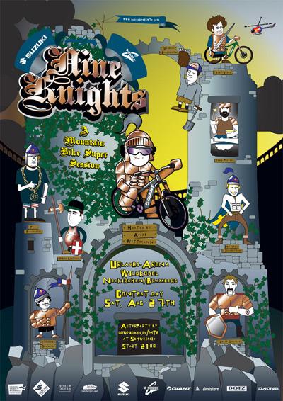 Suzuki Nine Knights MTB Event.  Foto: Suzuki Nine Knights