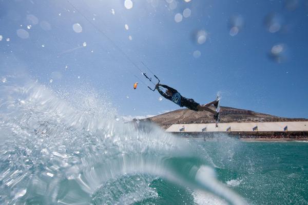 Kiteboarding Action.  Foto: Markus Adrian
