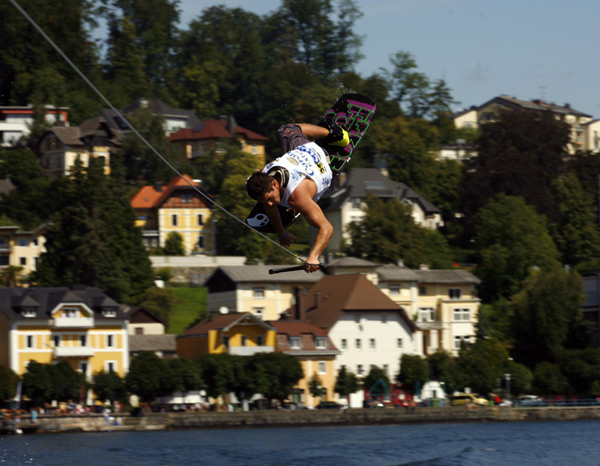 Corona Wakeboard Cup 2011: Erfolgreicher Auftakt-Event in Gmunden.  Foto: André Reitter