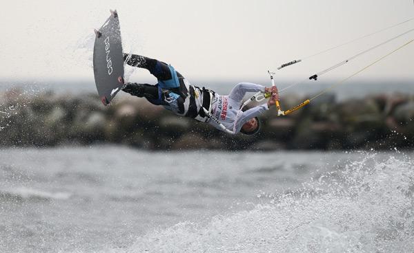 Kitesurf-Trophy 2011 auf Fehmarn.  Foto:brandguides.com