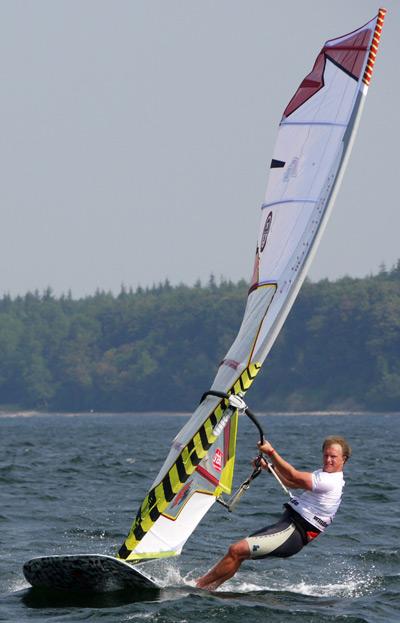 Deutscher Windsurf Cup 2011 in Eckernförde.  Foto: Alisa Kollmetz