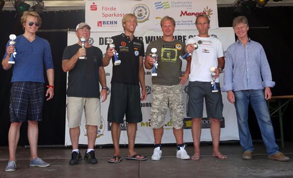 Deutscher Windsurf Cup 2011 in Eckernförde.  Foto: Katja Buergelt