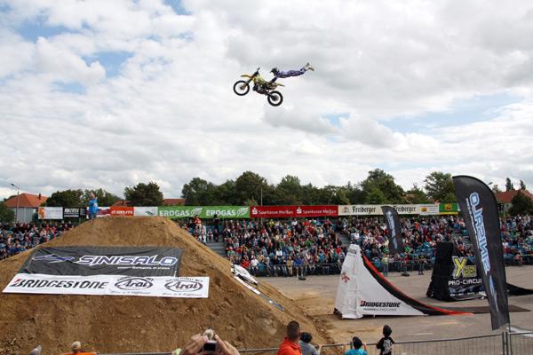 Sinisalo Deutschen FMX Meisterschaft 2011.  Foto: Pierre Mundin / NOTJ.com