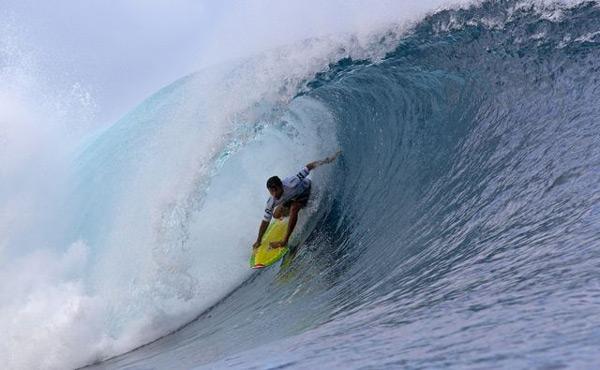 Billabong Pro Tahiti 2011.  Foto: Michael Kahl