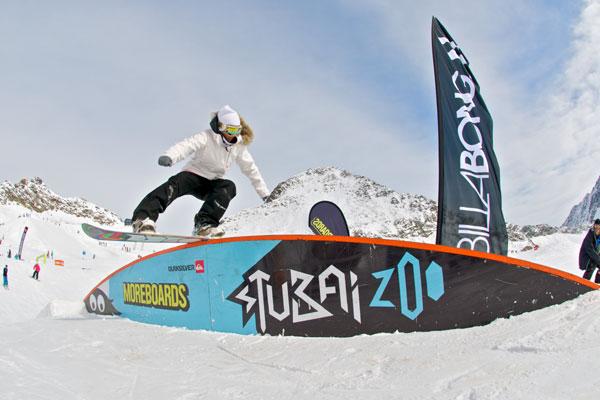 Moreboards Stubai Premiere 2011.  Foto: Stefan Eigner