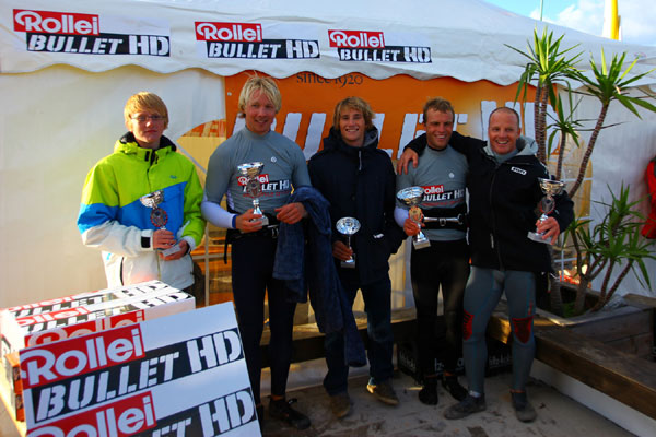 Freestyle DM 2011:Fabian Weber ist neuer Deutscher Freestyle-Windsurf Meister!.  Foto: Stevie Bootz