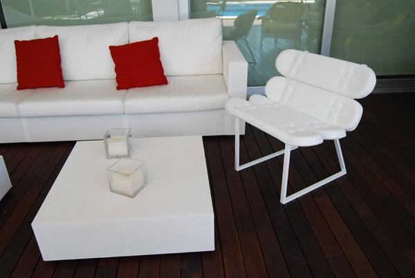 skate home m bel aus skateboards. Black Bedroom Furniture Sets. Home Design Ideas