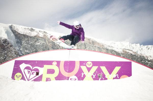 Roxy Snow Pro Saalbach Hinterglemm 2012.   Foto: Euan Baxter