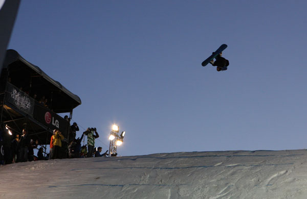 Snowboard FIS World Cup BIGAIR 2011.  Foto: © FIS/Oliver Kraus