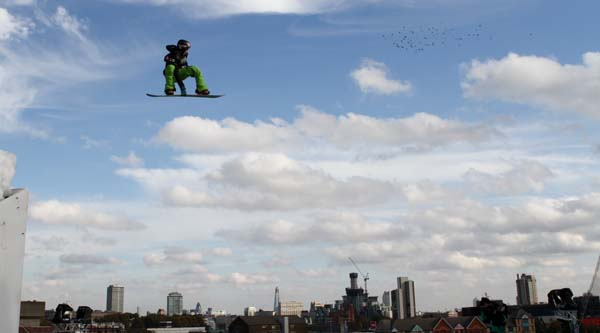Big Air London 2011.  Foto: FIS/Oliver Kraus
