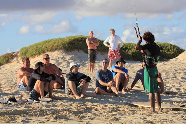 Kitereise Kap Verden.  Foto: http://www.kiteworldwide.com