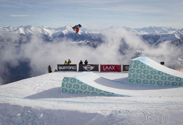 Burton European Open Snowboarding 2012 Laax.  Foto: Burton/ Laemmerhirt