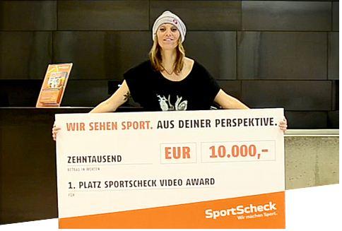 SportScheck Videowettbewerb 2011.  Foto: SportScheck