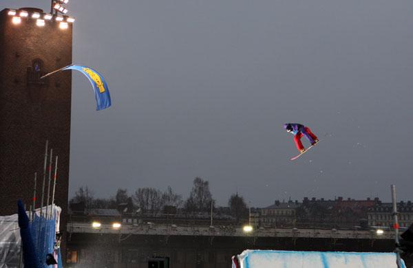 FIS Big Air Stockholm 2011.  Foto: Oliver Kraus