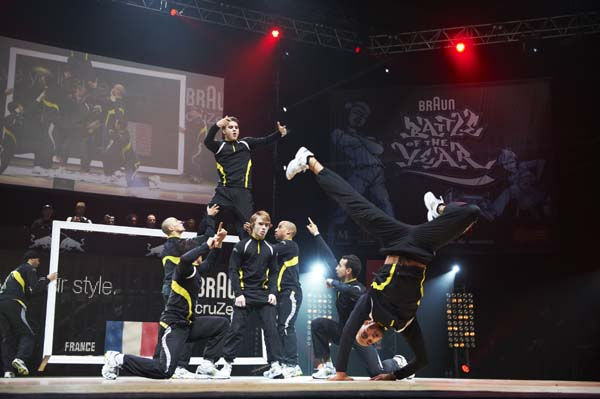 Battle of the Year 2011 Montpellier.  Foto: zooom.at /Markus Berger, Ray Demski