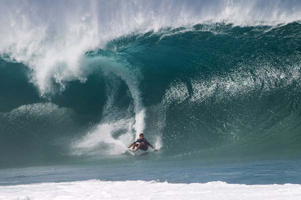 Billabong Pipe Masters Oahu 2011.  Foto: Michael Kahl